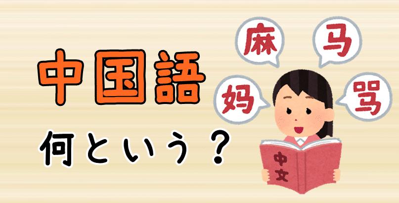 【発音付】中国語は中国語で何という?今スグ使える例文5選!