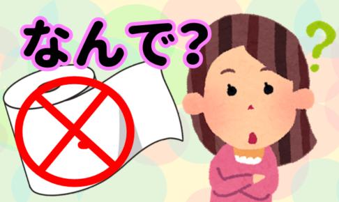 【台湾雑学】台湾人がトイレットペーパーを使わない理由って?