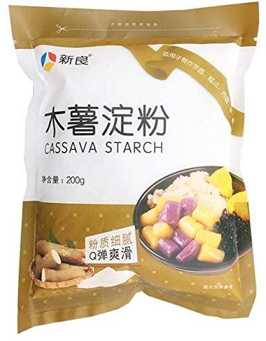 タピオカ原料を中国語で表した画像です。