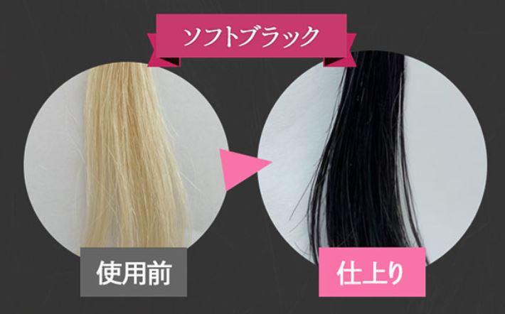 ブラトリ白髪染めカラーの選び方【ソフトブラック】