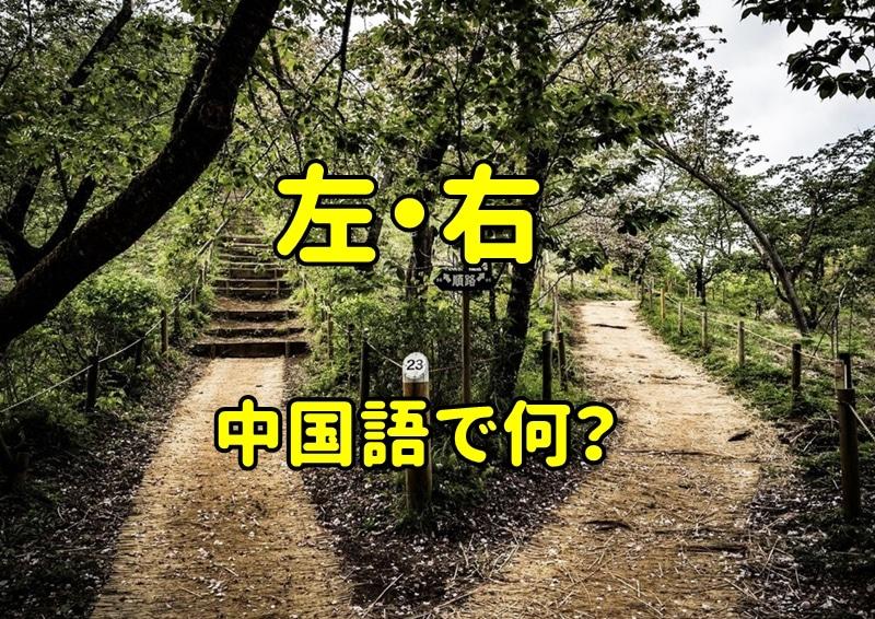 「左右」の中国語